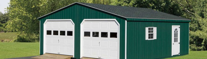 Garages 171 Amish Sheds From Bob Foote