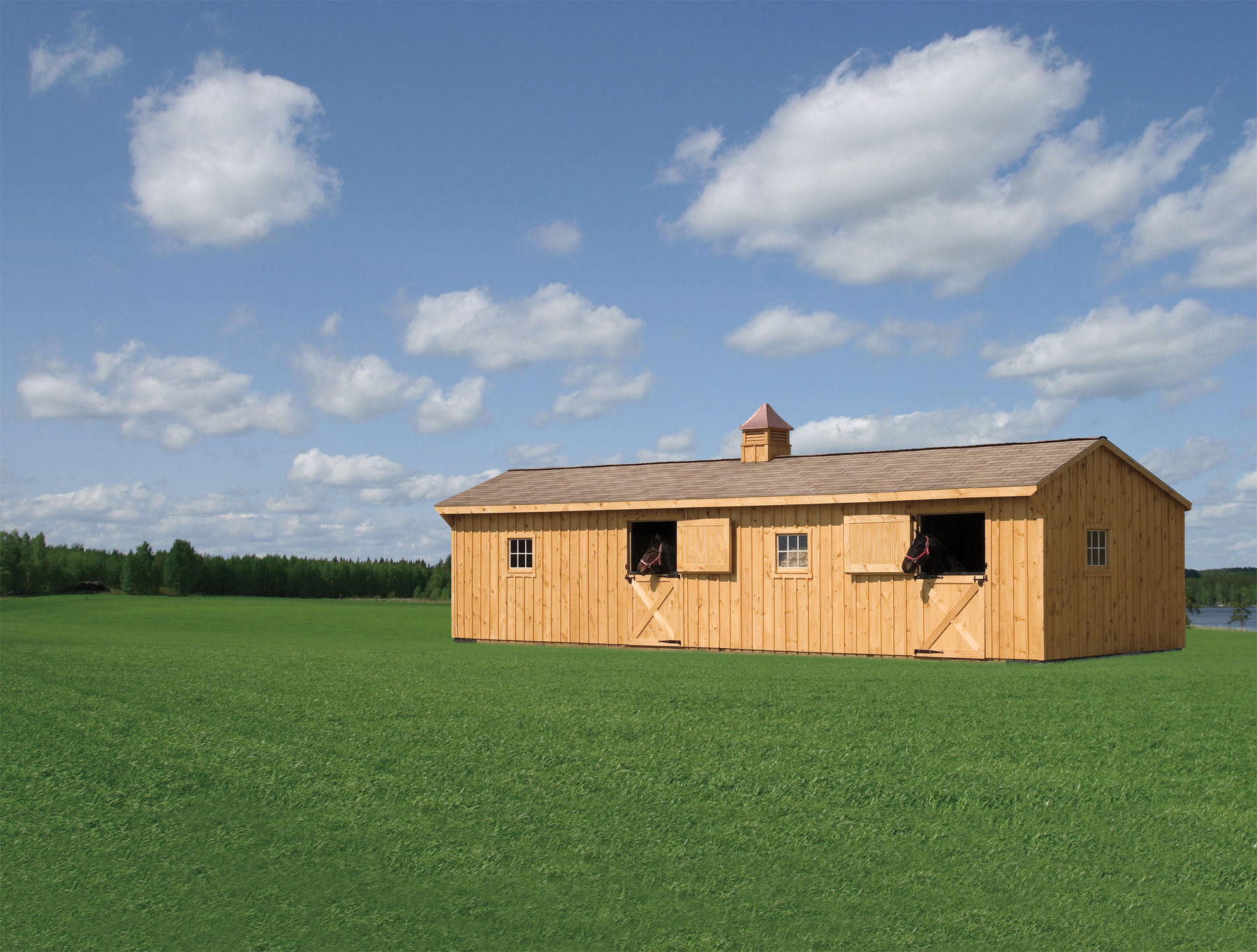 Amish Built Barns : Horse barns « amish sheds from bob foote