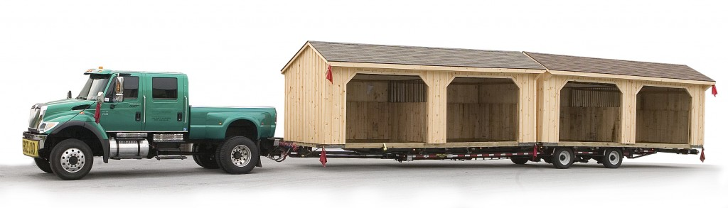 Amish Sheds Delivered to You!