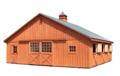 Amish Sheds From Bob Foote