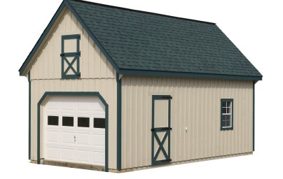 12′ x 30′ Two Story Garage