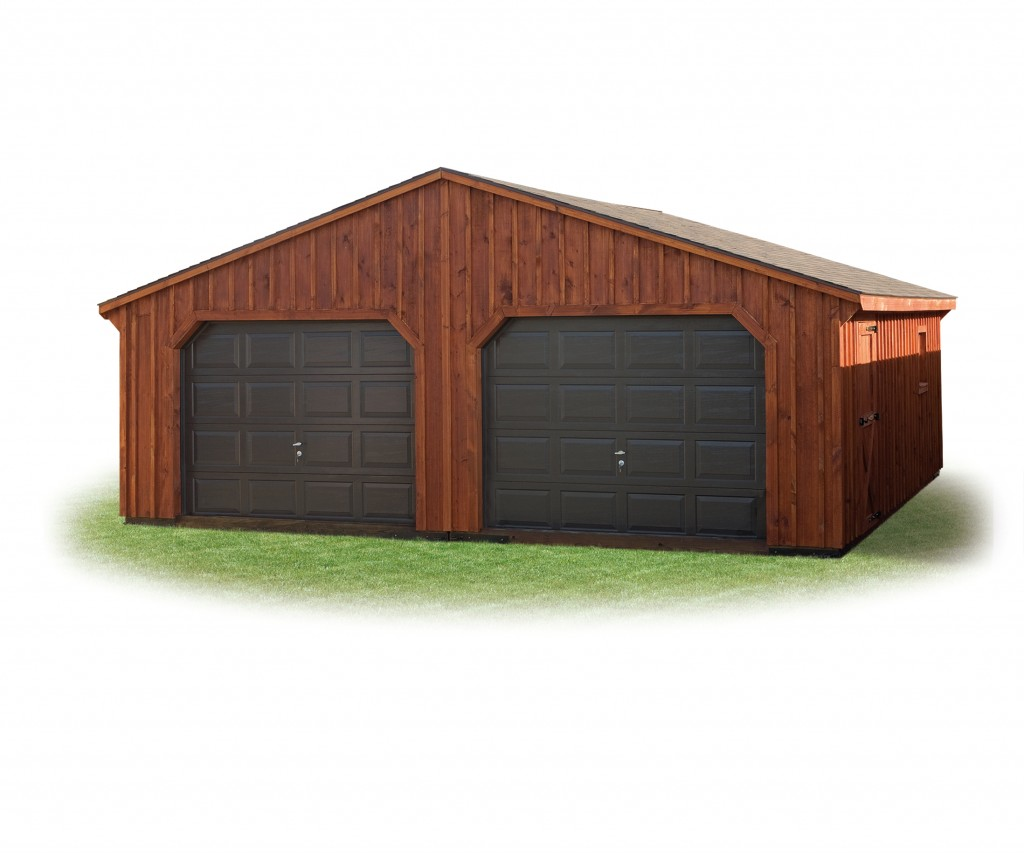 24' x 24' Double Wide Garage
