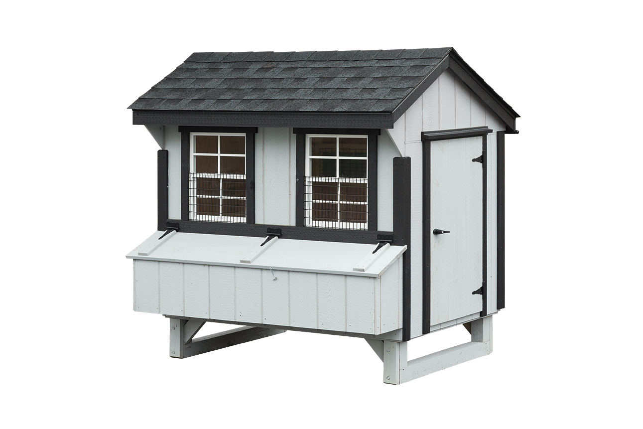 4 X 6 Quaker 171 Amish Sheds From Bob Foote