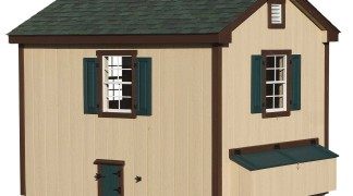 8 X 10 A Frame 171 Amish Sheds From Bob Foote