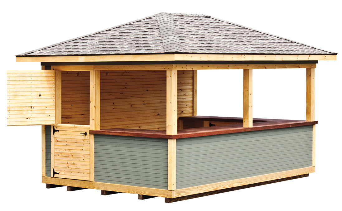 Ham 3x5 wooden shed details for Garden shed 3x5