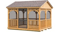 Gazebos 171 Amish Sheds From Bob Foote